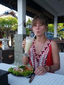 leckeres Essen in Tulamben