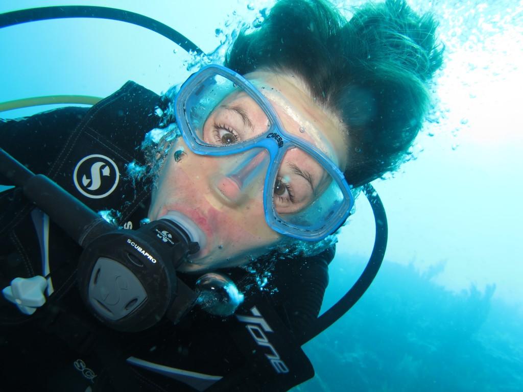 Simone Underwater Closeup