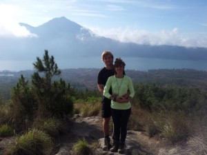 Abstieg vom Mount Batur