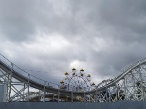 Luna Park & Clouds