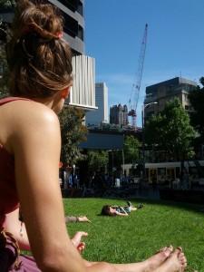 Entspanntes Melbourne im Zentrum