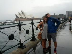 Opera House bei Regen