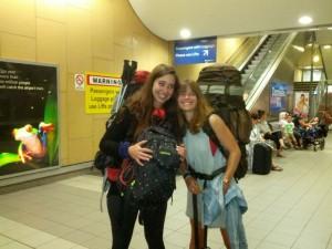 Meikes Ankunft in Sydneya