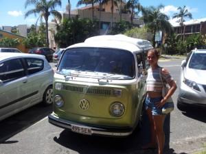 Pommie & VW-Bus