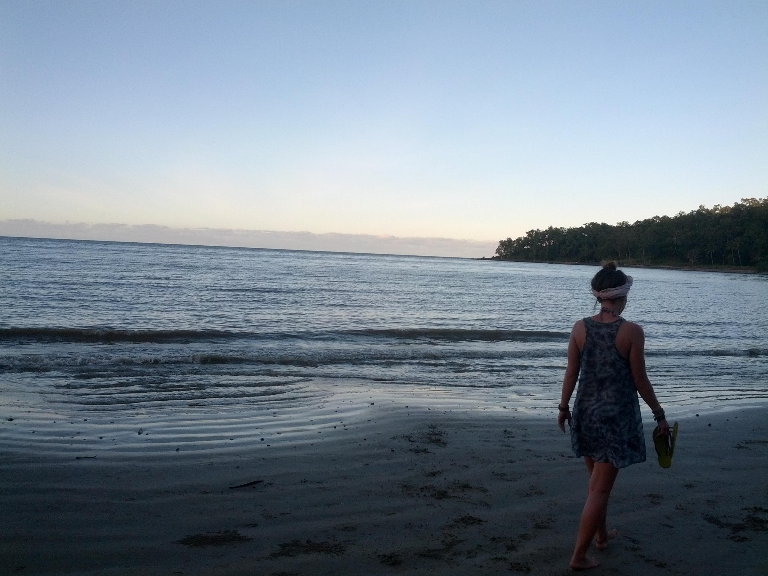 Sonnenuntergang in Port Douglas