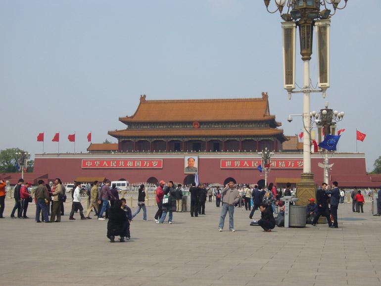 Tian'amen Platz in Peking