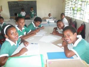 Unterricht auf Fidschi
