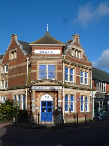 Das Schulgebäude der Sprachschule