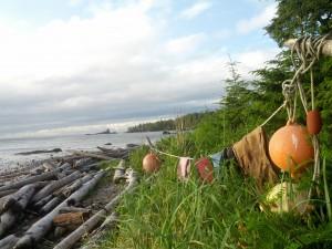 North Coast Trail, Klamotten zum Trocknen aufgehangen