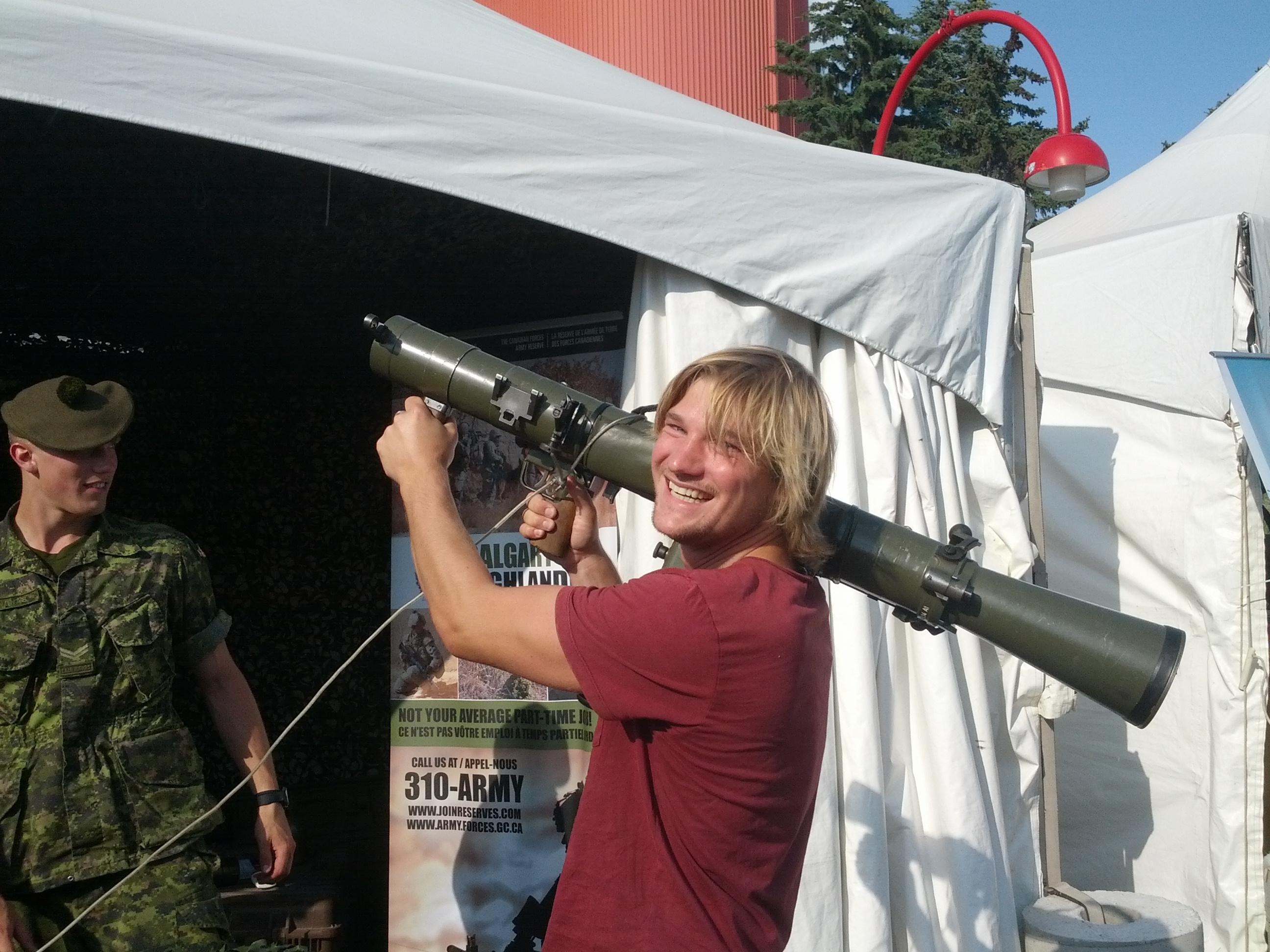 Stampede Calgary Army Nils