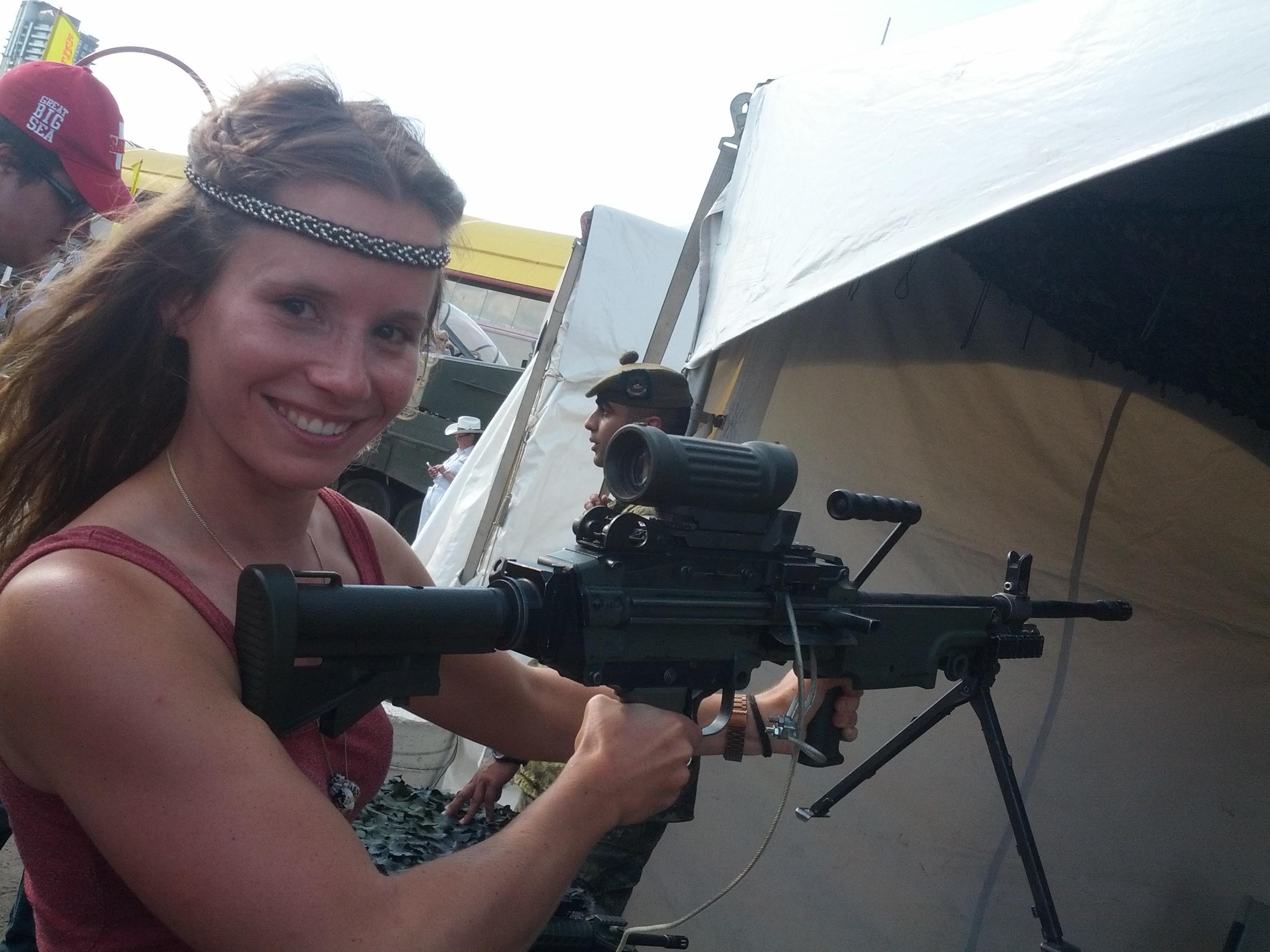 Stampede Calgary Army Simone