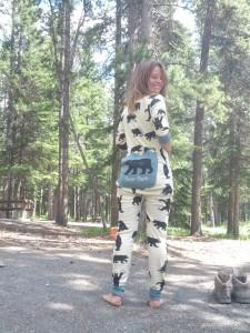 bear pyjama