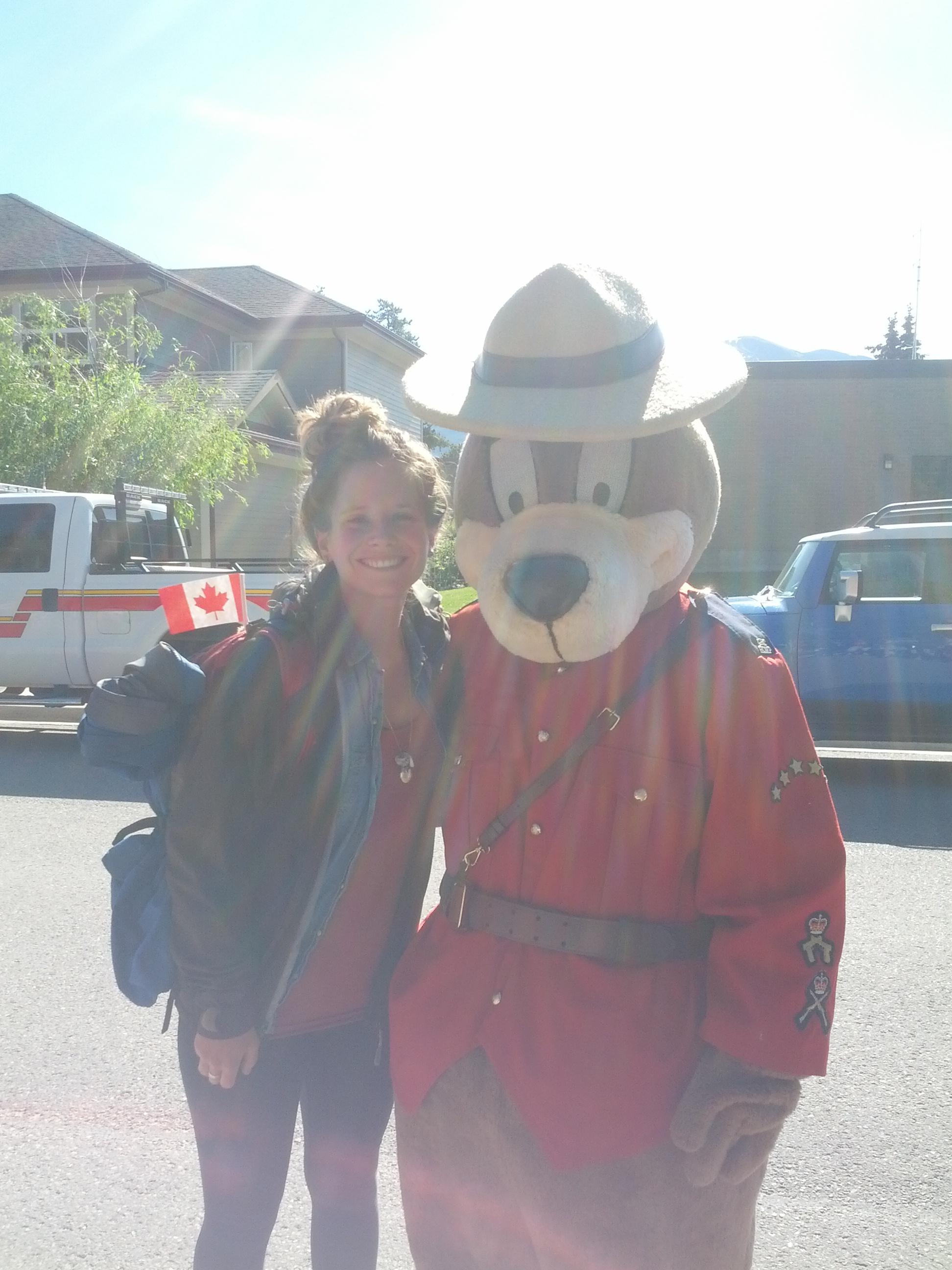 canada day mit safety bear