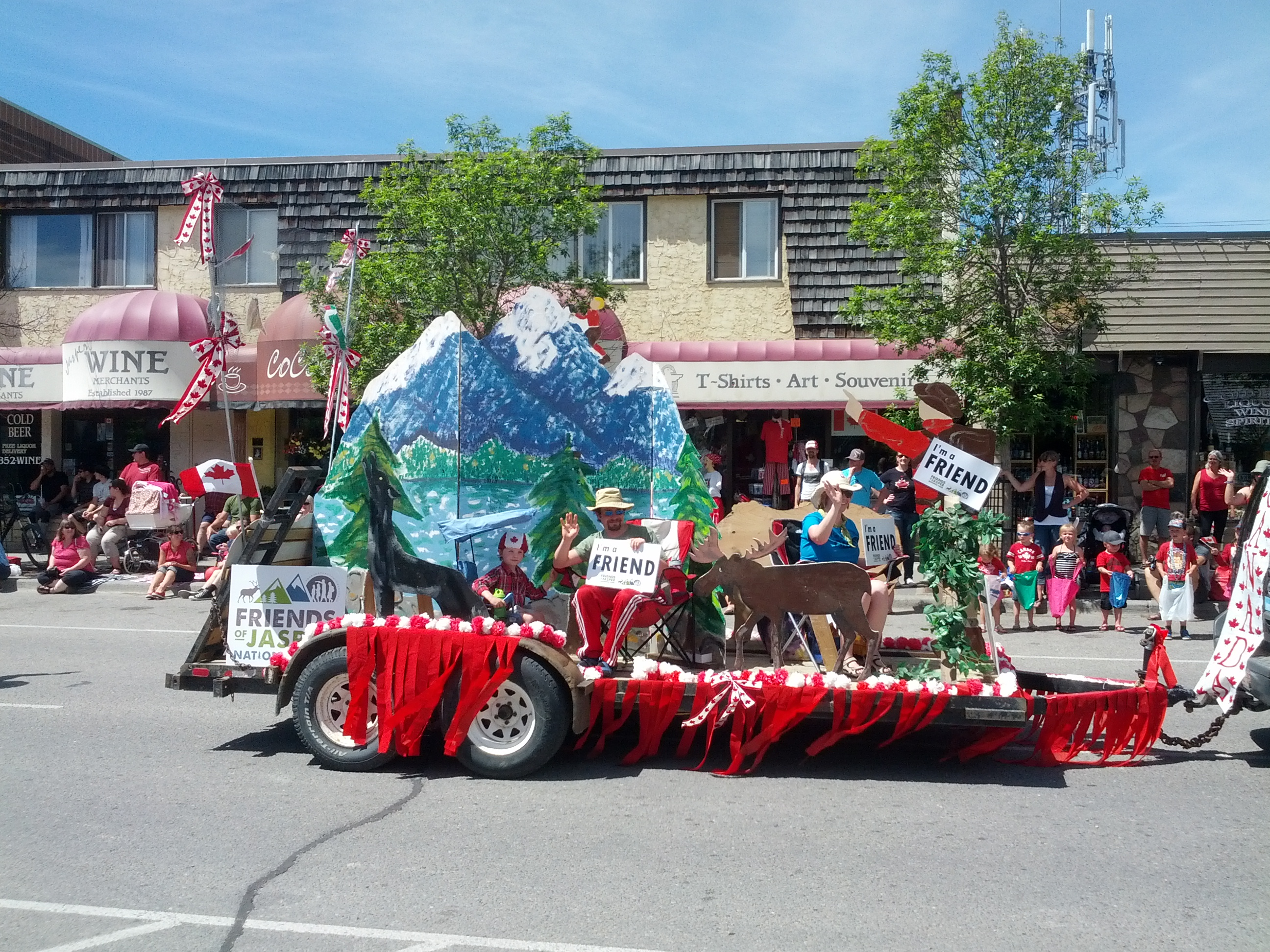 canada day parade jasper