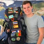 Stephan und sein Rucksack