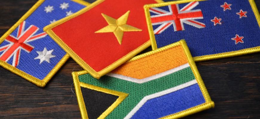 Südafrika, Australien, Neuseeland, Vietnam