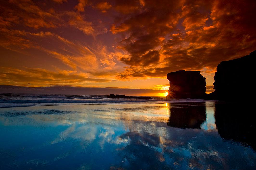 Küste von Neuseeland