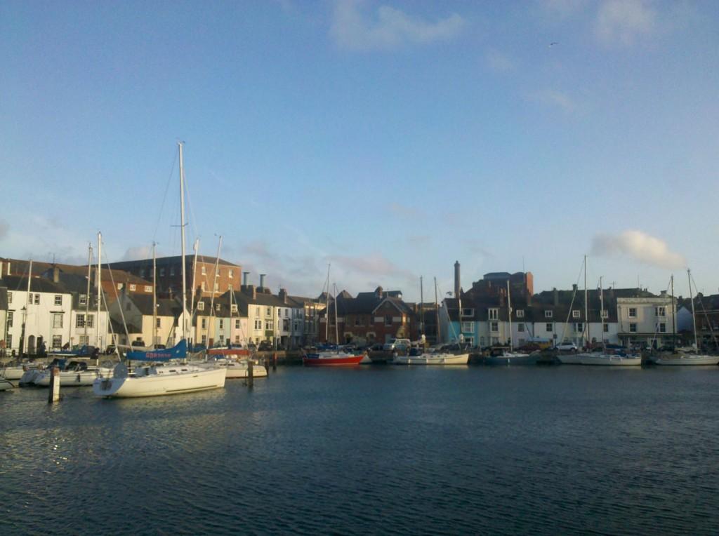 Der Hafen von Weymouth