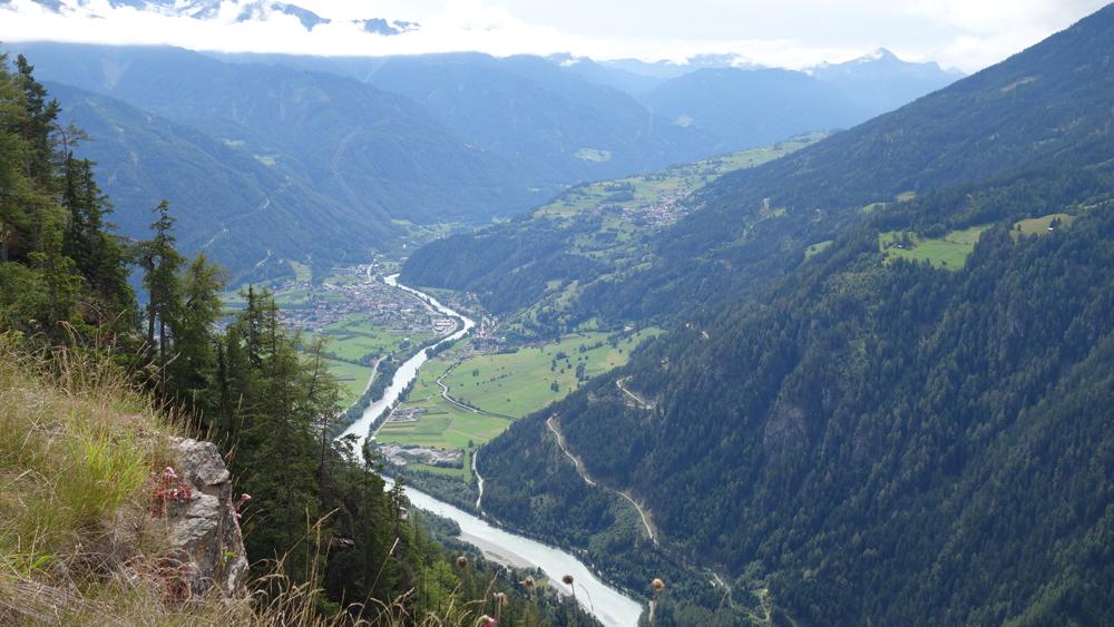 10 Die Pillerhöhe, auf ca. 1600m