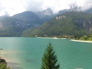 3 Der Molveno See auf ca.864m
