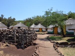 Basotho-Dorf