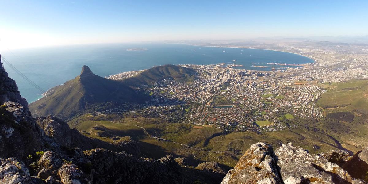 Kapstadt – Aussicht vom Tafelberg
