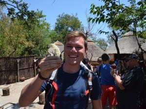Vorher – Hier habe ich die Mopane noch in der Hand