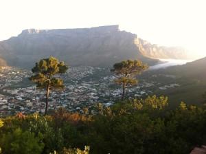 Aussicht vom Signal Hill auf den Tafelberg