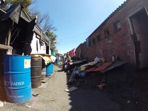 Häuser der untersten Schicht in Langa