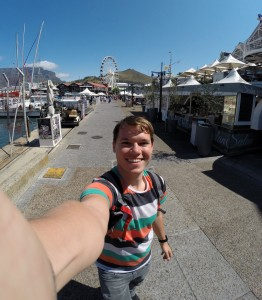 Selfie an der Waterfront