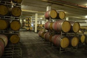 Riesiger Weinkeller in Stellenbosch