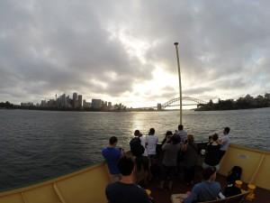 Auf der Fähre von Manly zurück nach Sydney