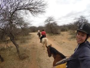 Reitausflug auf dem Reservat Makulu Makete