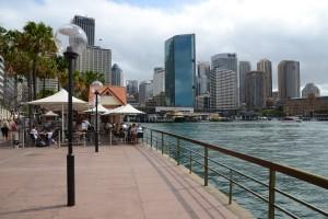 Sydneys schickes Hafenviertel