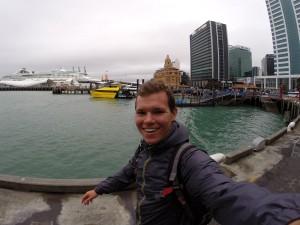 Regnerische Ankunft in Auckland – perfektes Wetter für Organisatorisches