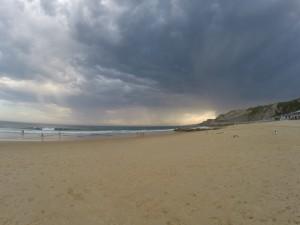 Gewitterfront vor Australiens Küste