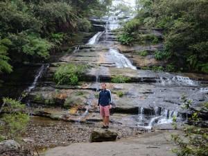 Die Katoomba Falls im gleichnamigen Ort