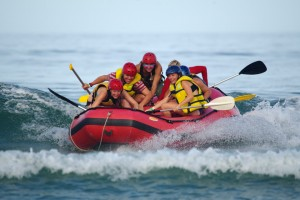 Afternoon Activity: Ocean Rafting