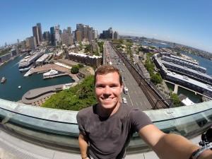 Aussicht auf Sydney vom Pylon Lookout