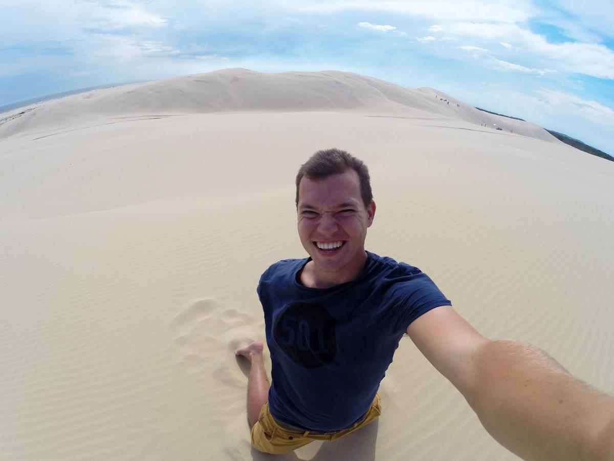 Gefühlt mitten in der Wüste