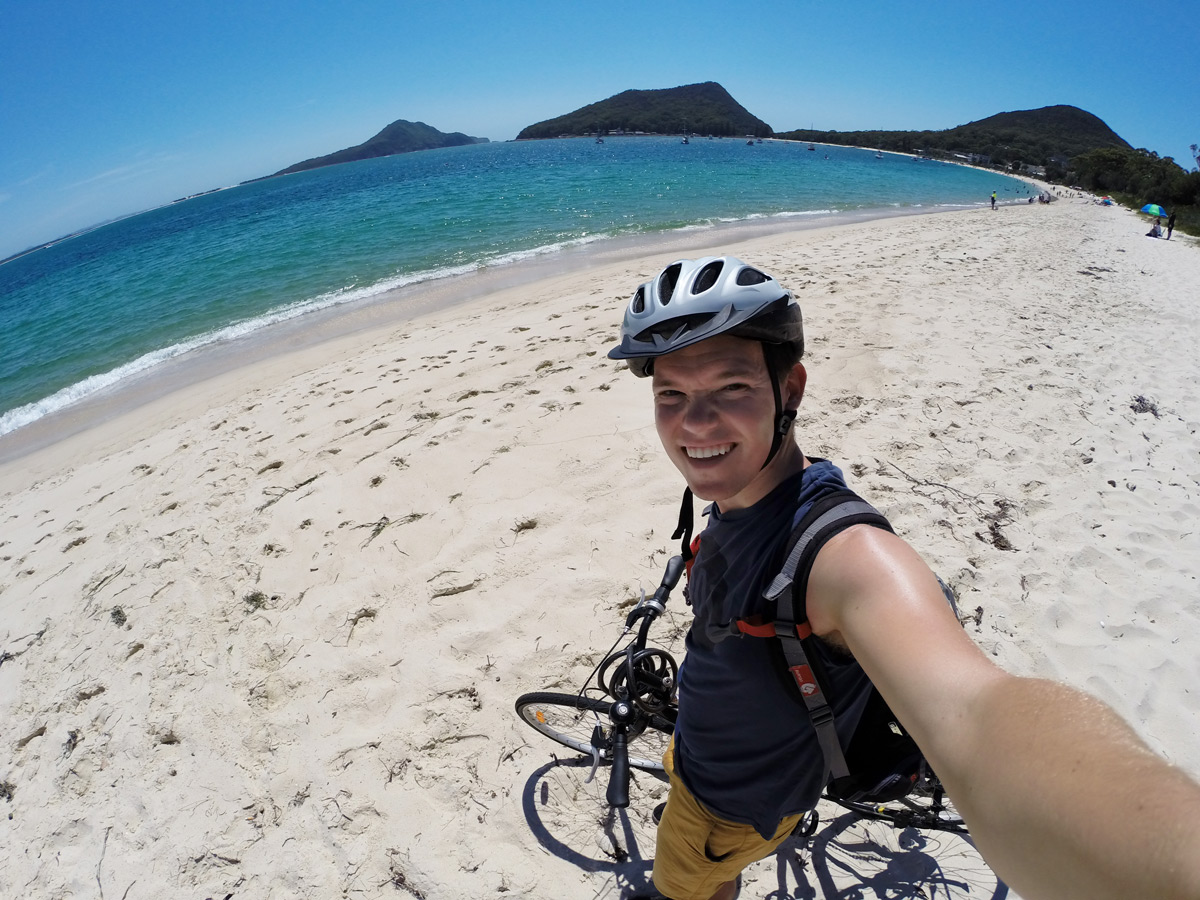 Fahrrad-Tour durch Port Stephens