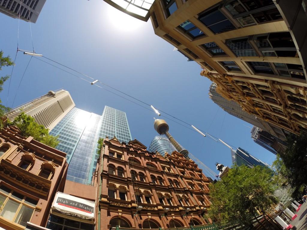 Zentrum von Sydney