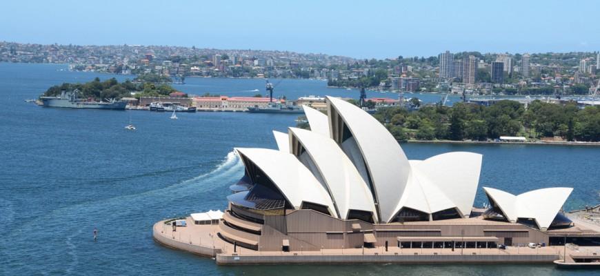 Das geräumte Sydney Opera House