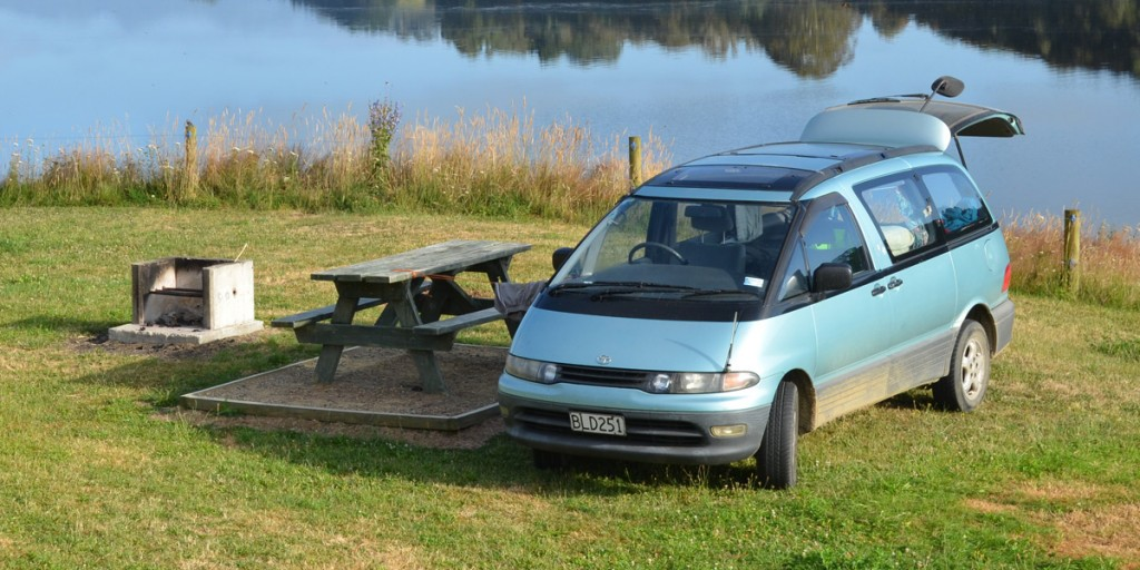 Ist unser Backpacker-Mobil Camping-tauglich?