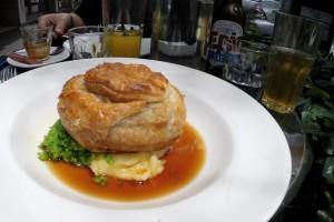 Ein typischer, neuseeländischer Meat Pie