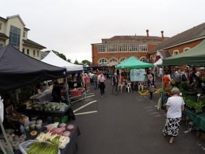 Der schöne Farmer's Market in Parnell, Auckland