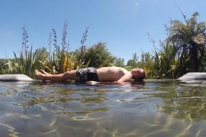 Infinity Pool im Waikite Valley