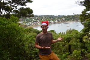 Grüne Weihnacht im Bay of Islands bei 25 Grad