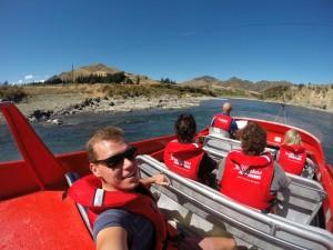 Mit 70 Sachen über's Wasser – Jet Boating