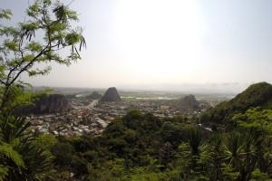 Aussicht von höchsten Gipfel der Marble Mountains